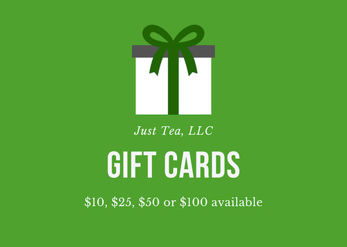 Just Tea Gift card