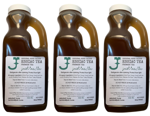 3 quarts (2.7L) Ready to drink liquid Essiac tea