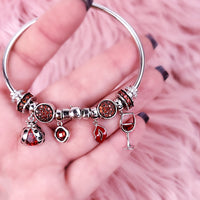 Red Love - Built Bracelet in Small