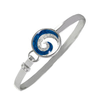 Blue Wave Bangle
