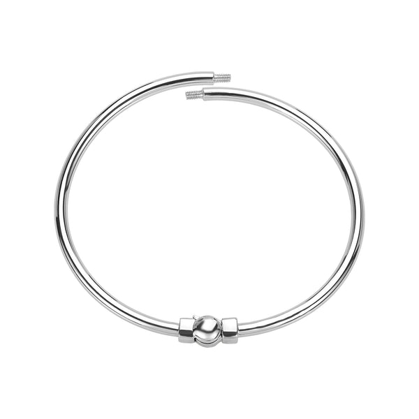 Polished Bangle Bracelet in Medium/Large