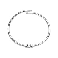 Polished Bangle Bracelet in Small/Medium