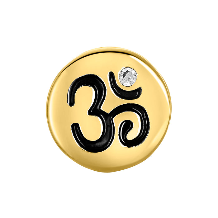 Golden OM Bead