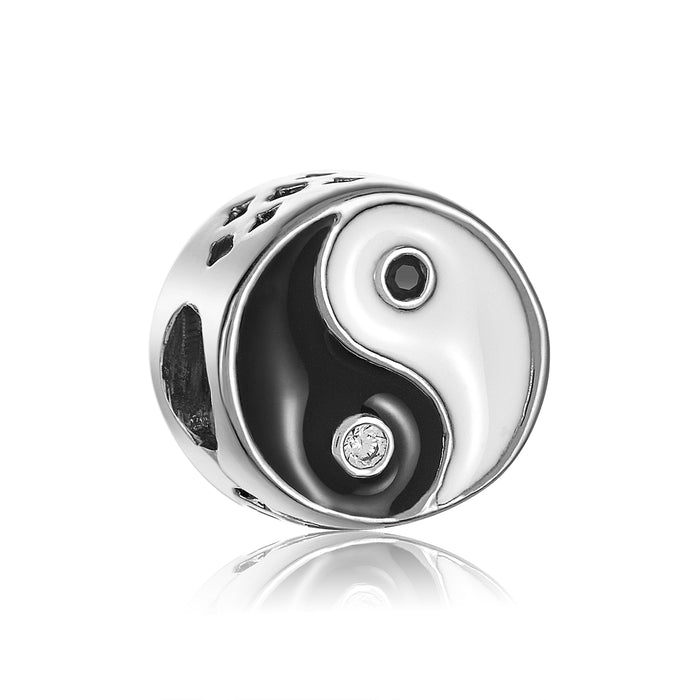 Yin-yang bead for DBW interchangeable bracelets