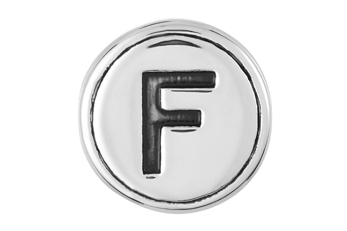 Letter F Bead