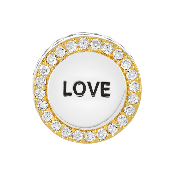 Two-Tone Love Bead