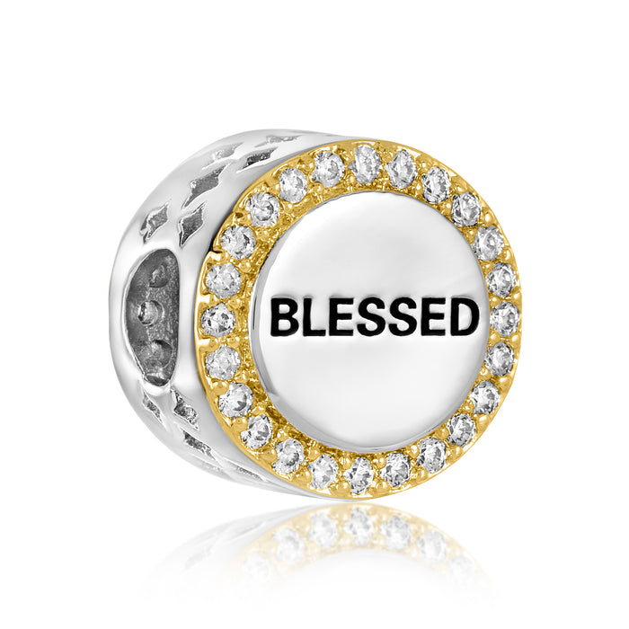 Blessed bead for use with DBW interchangeable bracelets