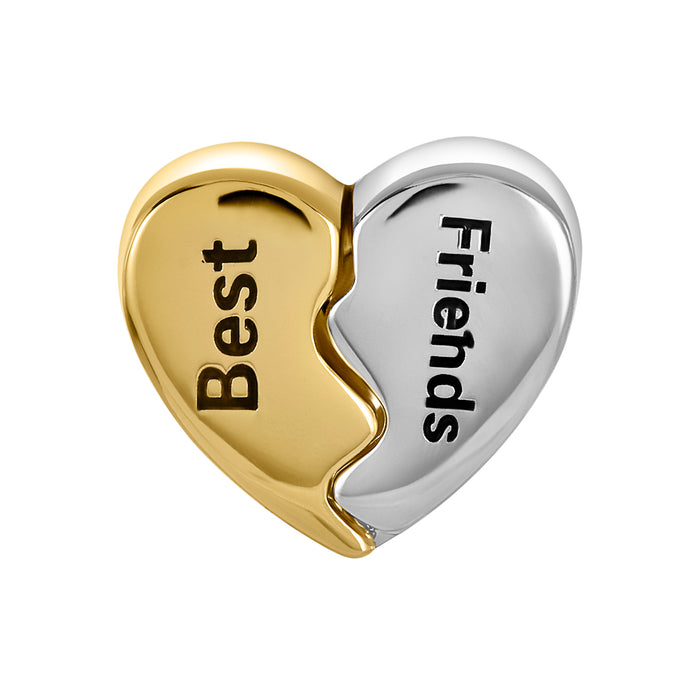 Two-Tone Best Friends Bead
