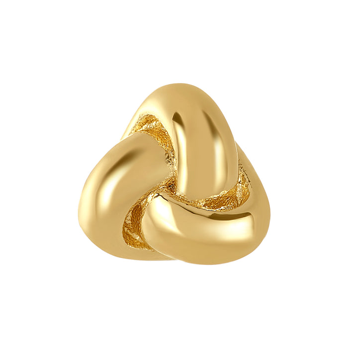 Golden Love Knot Bangle Ball Pair