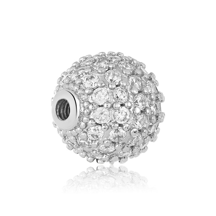 Dazzling Studded Bangle Ball Pair