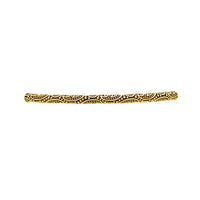 Golden Paisley Fashion Bracelet Bar, Small