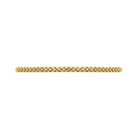Golden Patterned Fashion Bracelet Bar, Small