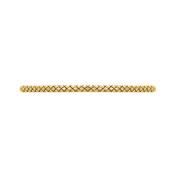 Golden Patterned Fashion Bracelet Bar, Large