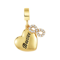 Golden Besties Forever Charm