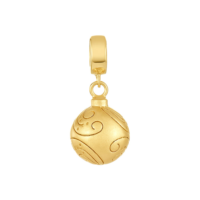 Golden Ornament Charm