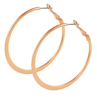 30mm Rose Gold Hoop
