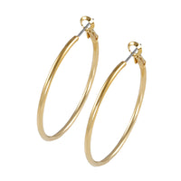 30mm gold hoop earring