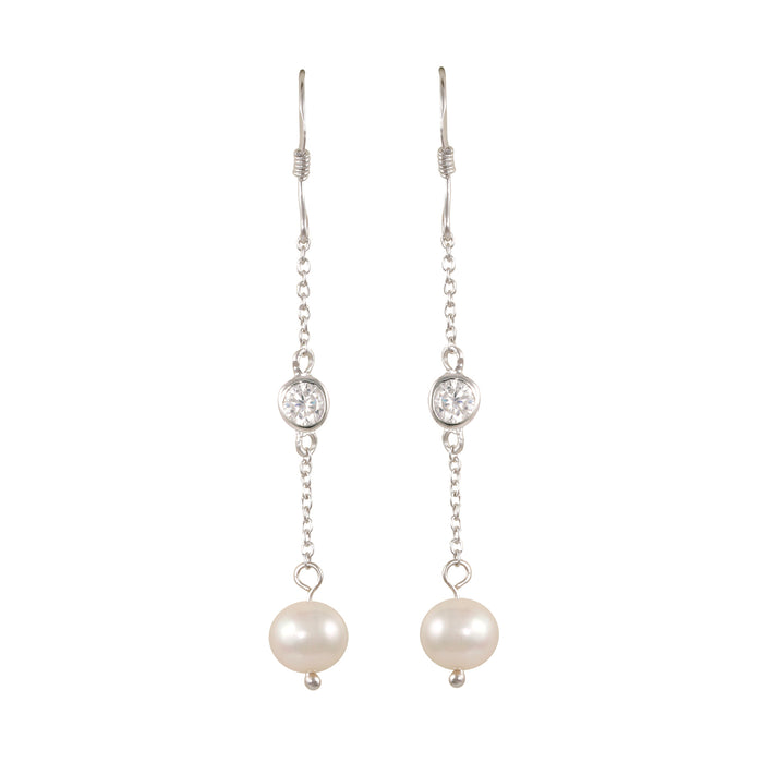Dangle Pearl Earring