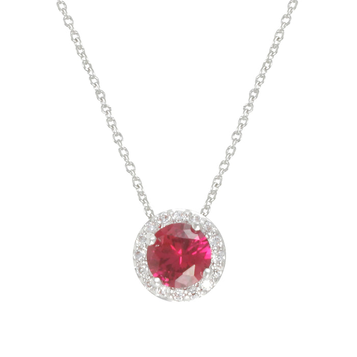 Birthstone Necklace - July