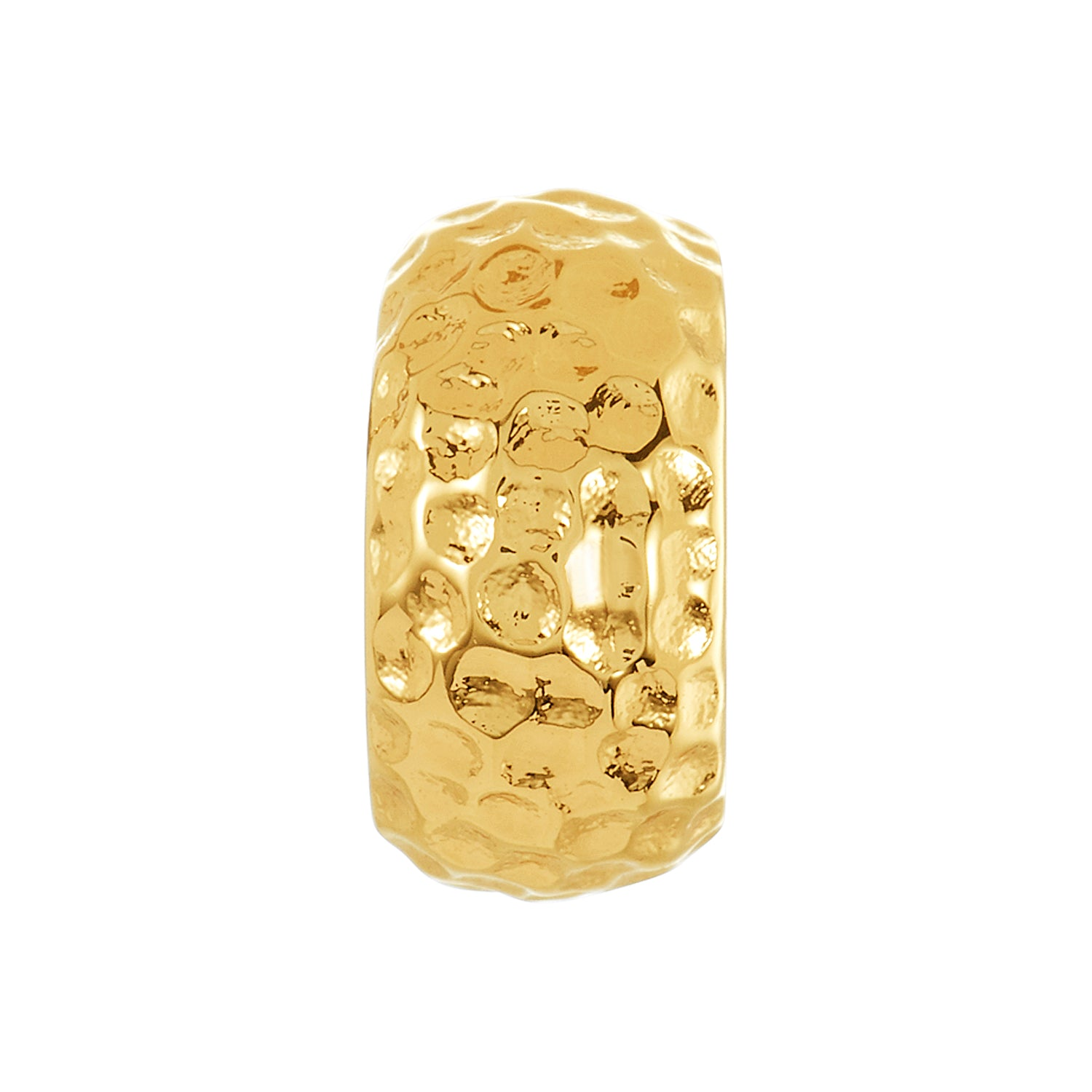 Golden Hammered Spacer