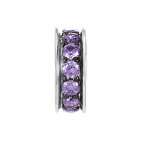 Purple Sparkling Spacer