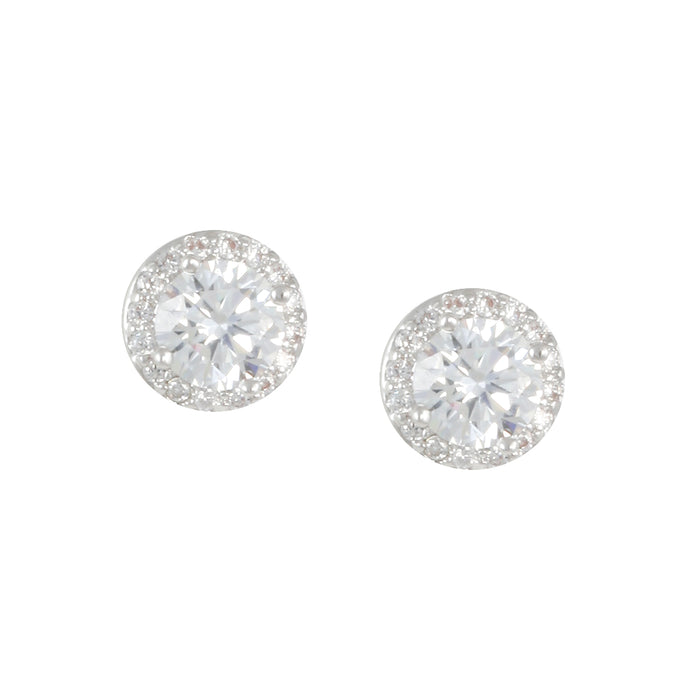 Pave' Ball Earring