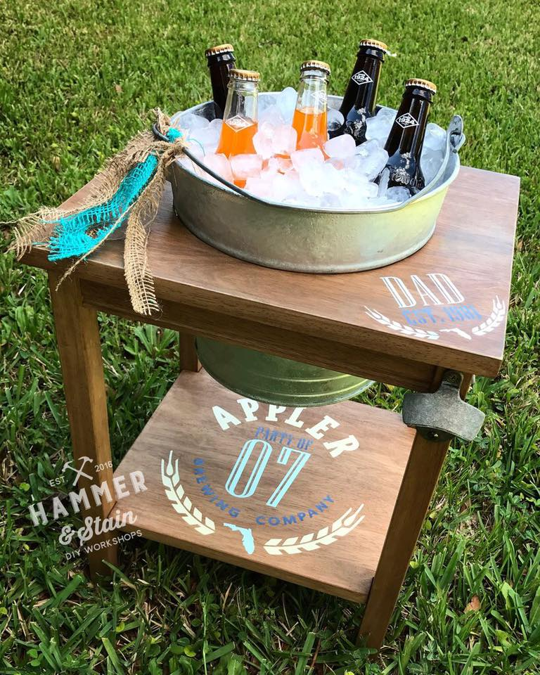 Beer Bucket Table