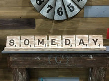Scrabble Tile ($45 for up 6 tiles, $5 for each additional tile)