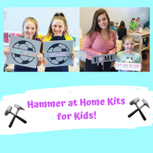 KIDS 'Hammer at Home' Wood Sign Take Home Kits