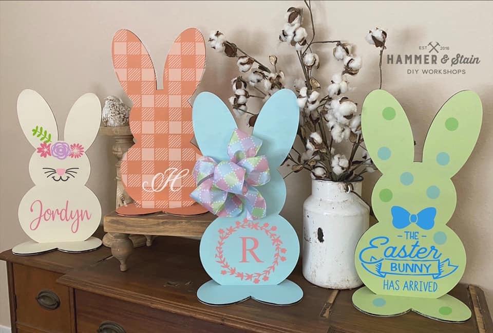 Hammer At Home Table Top Bunny