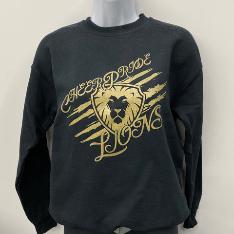 Lion's Crest Gold Crewneck