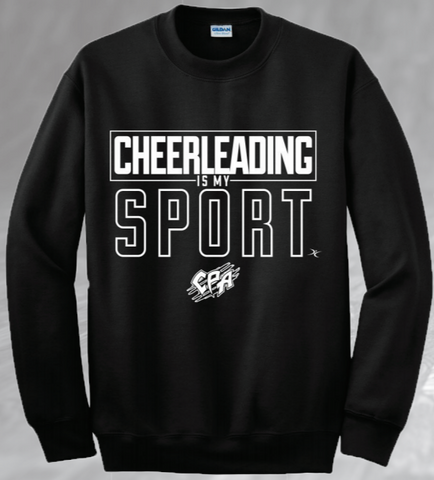 *NEW* Cheerleading is my Sport Crewneck