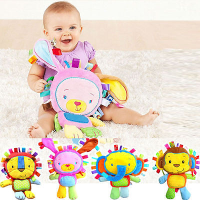 Bell Plush Baby Toy - BabyBus Stop