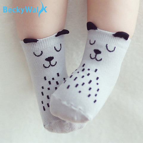 Cute Toddler socks - BabyBus Stop