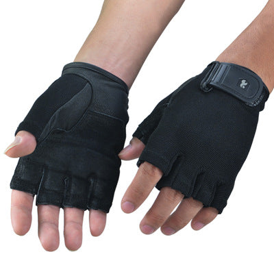 Leather Gym Crossfit  Gloves - BabyBus Stop