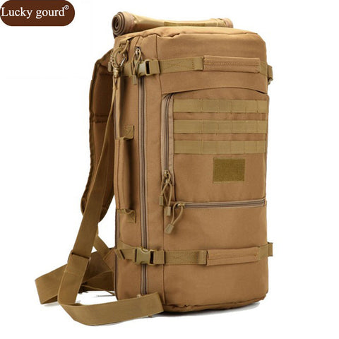 Hot Men's Military Backpack Waterproof Nylon School Bag - BabyBus Stop