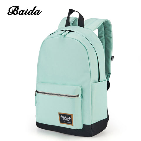 BAIDA Fashion Backpack Women Leisure Travel - BabyBus Stop