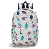 Women Backpacks Floral Print - BabyBus Stop