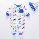 Newborn baby costume Long Sleeve Baby Rompers One Piece - BabyBus Stop