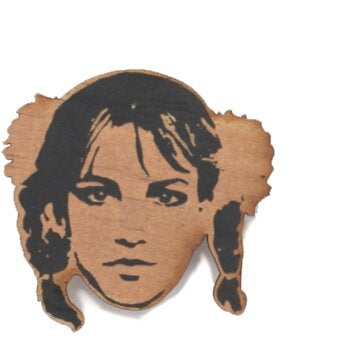 Brittney Spears Wooden Ornament
