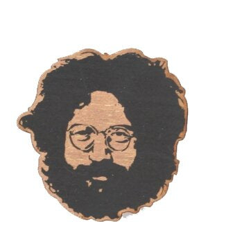 Jerry Garcia Wooden Ornament