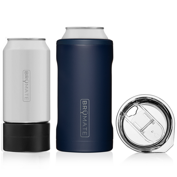 Hopsulator Trio 3-in-1 Can Cooler- Matte Navy