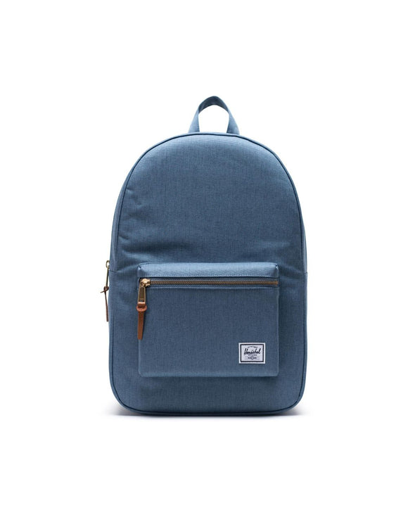Settlement Backpack- Blue Mirage Crosshatch