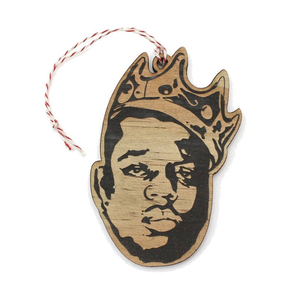 Biggie Wooden Ornament