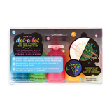 Dot-A-Lot Glow In The Dark Craft Paint - set of 5