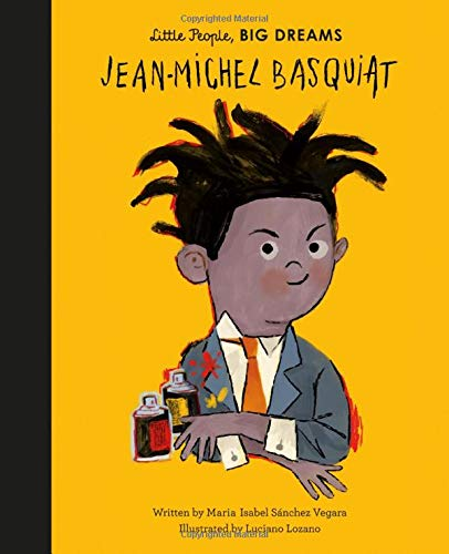 Jean-Michel Basquiat Little People Big Dreams Book