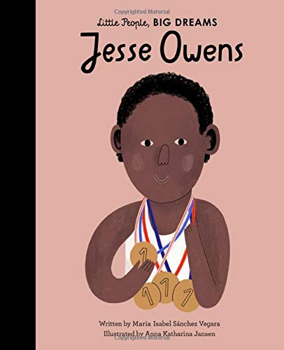 Jesse Owens Little People Big Dreams Book