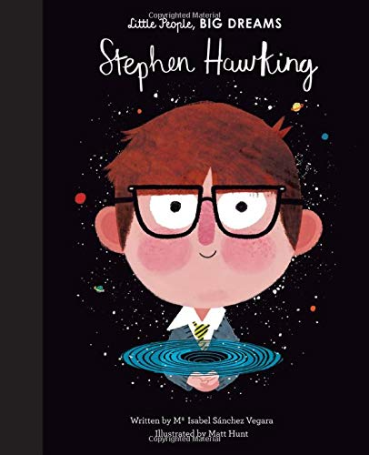Stephen Hawking Little People Big Dreams Book