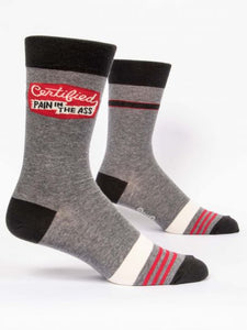 Certified Pain In The Ass Men's Crew Socks