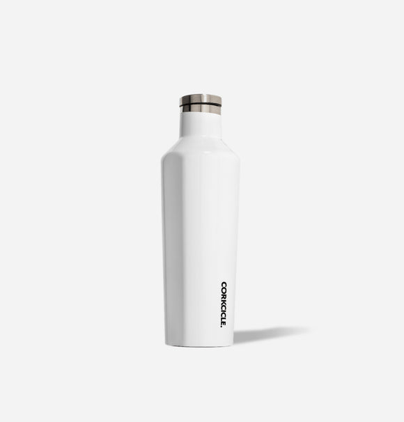 Glossy White 16 oz Canteen